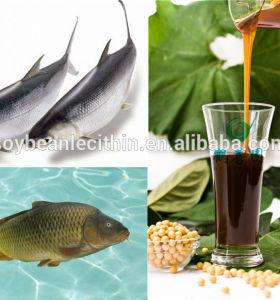 Animal feed additive lecithin soy