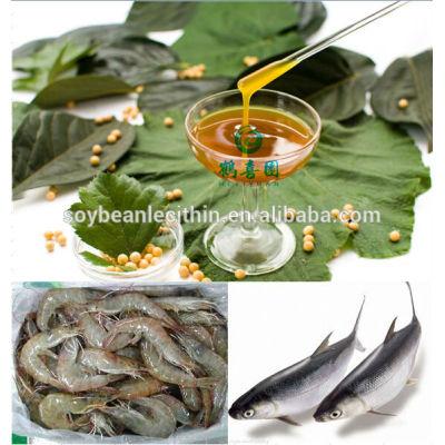 soya lecithin additive for aqua feed