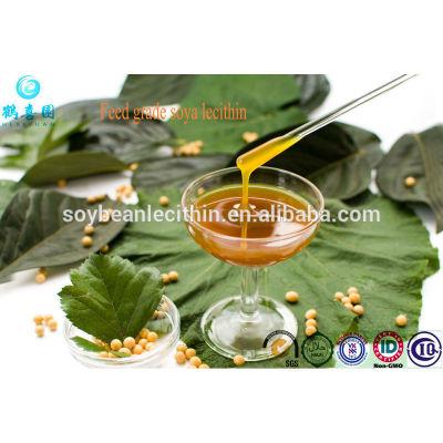 Lecitina de soja de grado de alimentación para aqua, Ganado, Alimentación de aves de corral aditivos