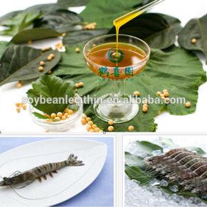 De lécithine de soja pour aliments pour crevettes