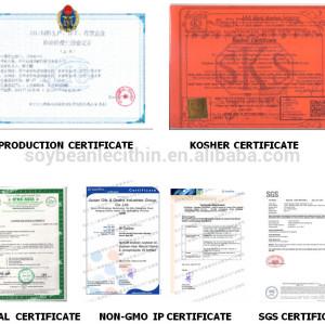6ys NON GMO emulsifier food additive grade liquid lecithin soy soja factory