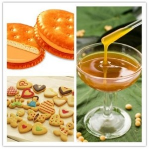 Bleaching soya lecithin liquid for food additives