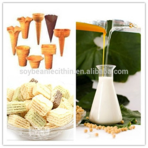 the largest soya lecithin powder GMP free supplier in China
