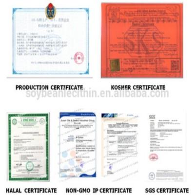 HXY-5SP Edible GMO Free soya lecithin liquid suppliers