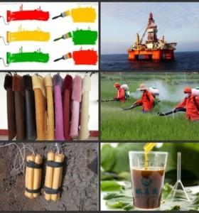 HXY-1H industrial grade soya lecithin liquid emulsifier for emulsion explosive