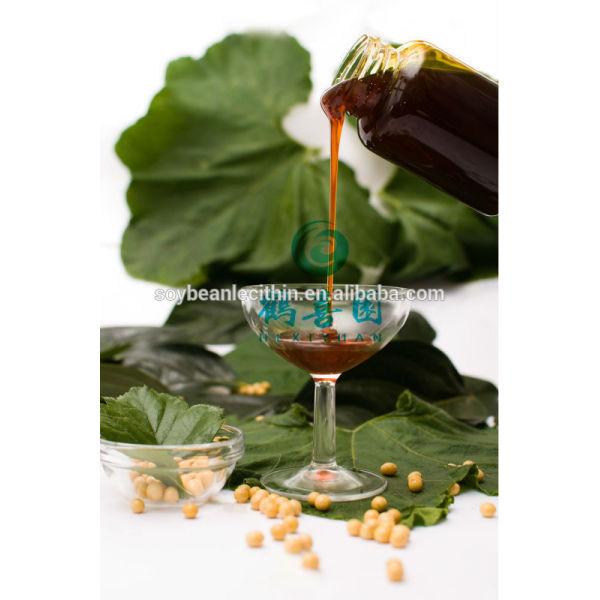 Emulsionante líquido lecitina de grado de alimentación