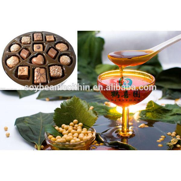 Fuente de la fábrica de lecitina de soja aditivos alimentarios para confitería