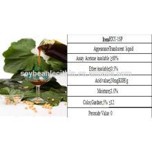 Fuente de la fábrica de soja lecitina de aceite
