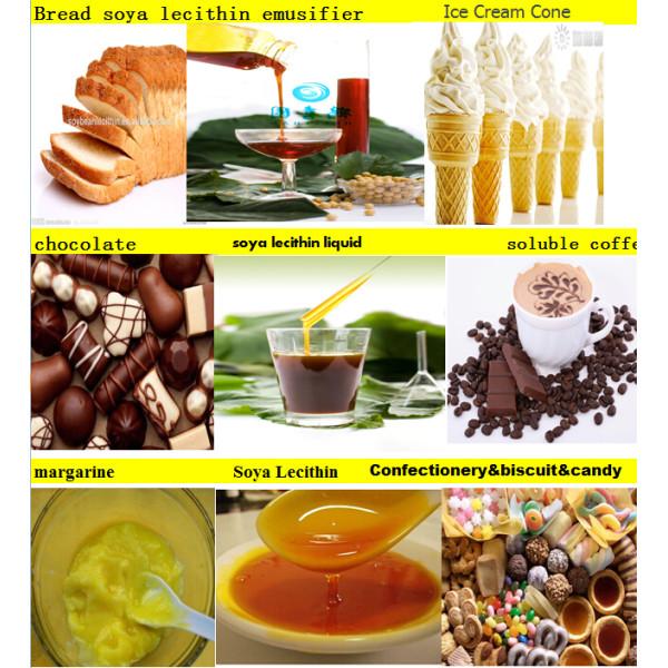 mejor de comestibles lecitina de soja de emulsionante de alimentos y estabilizadores