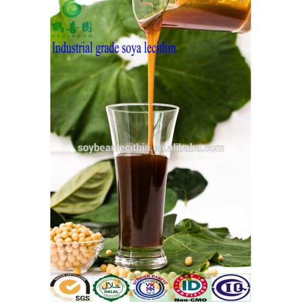 lecitina de soja de grado de alimentos transgénicos no líquido