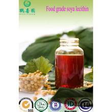 Grado alimenticio líquido lecitina de soja desde el proveedor de China