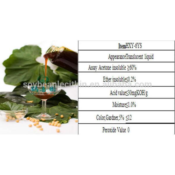 Emulsionante lecitina de