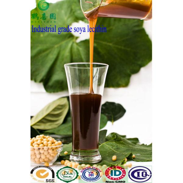 Emulsionante lecitina de líquido de grado Industrial
