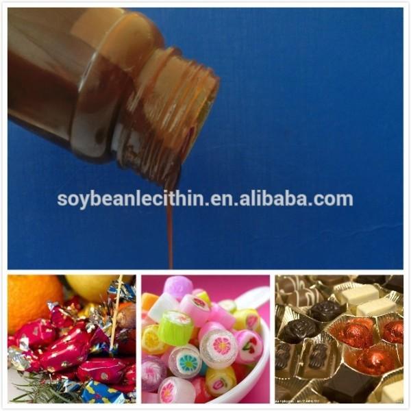 De la categoría alimenticia lecitina de soja para el caramelo y chocolate