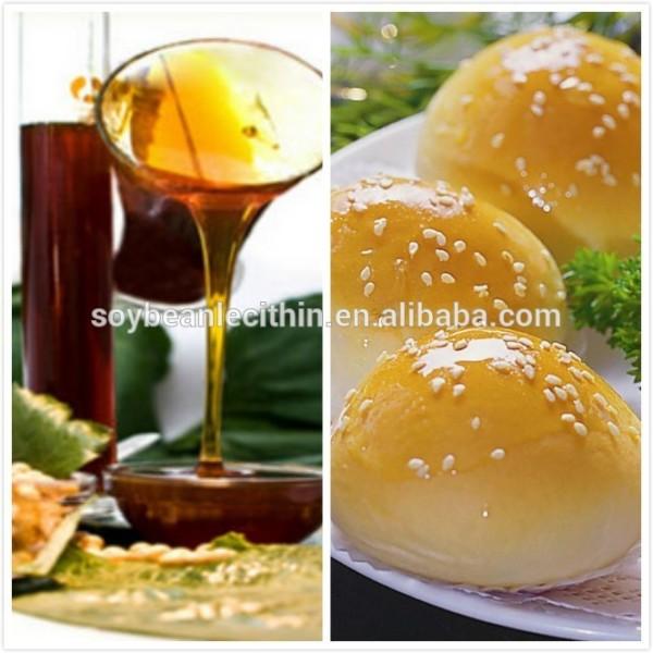 Caliente venta Non-Gmo líquido lecitina de soja para el pan suplemento alimenticio