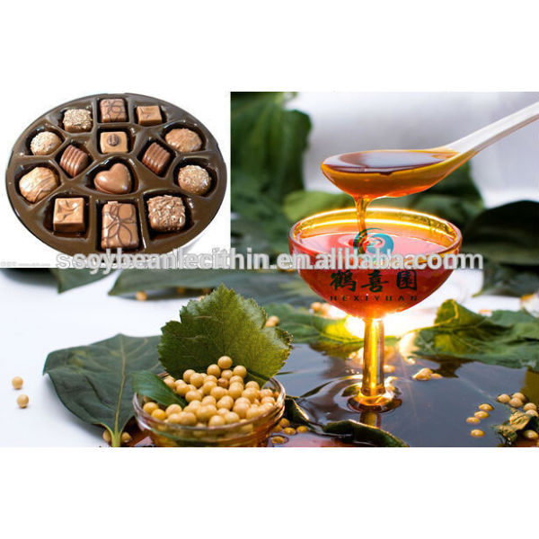 De la categoría alimenticia lecitina de chocolate emulsionante