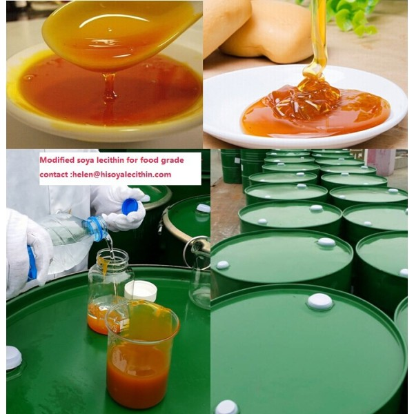 Concentra comida de grado de alimentación industrial grado lecitina de aceite