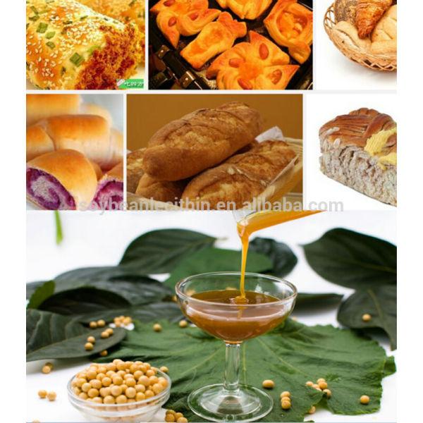 Lecitina de emulsionante para panadería / dulces / chocolate