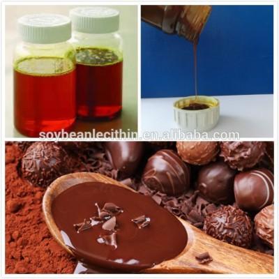 Alimentos emulsionante soja lecitina para chocolate