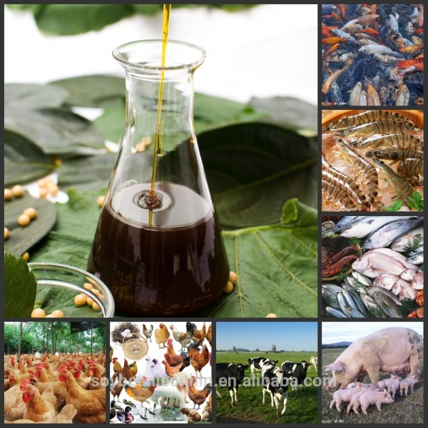China ( heilongjiang ) mayor fábrica del origen oferta crudo lecitina de soja