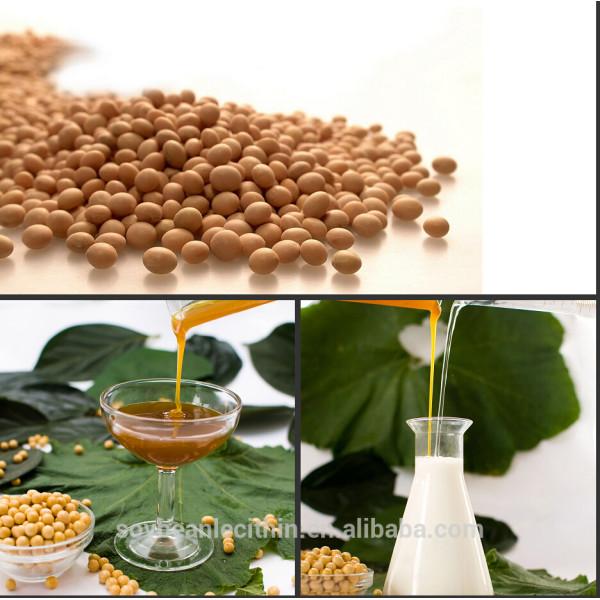 Fuente de la fábrica modificado lecitina de soja con precios más bajos