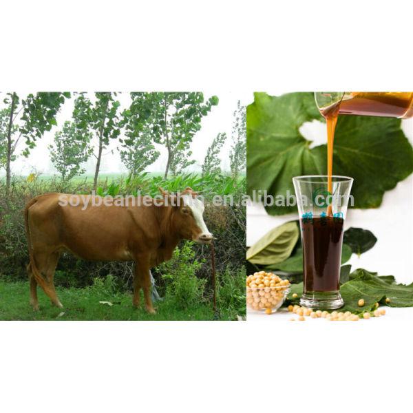 Lecitina de soja para Mineral suplementos de alimentación Animal aditivos