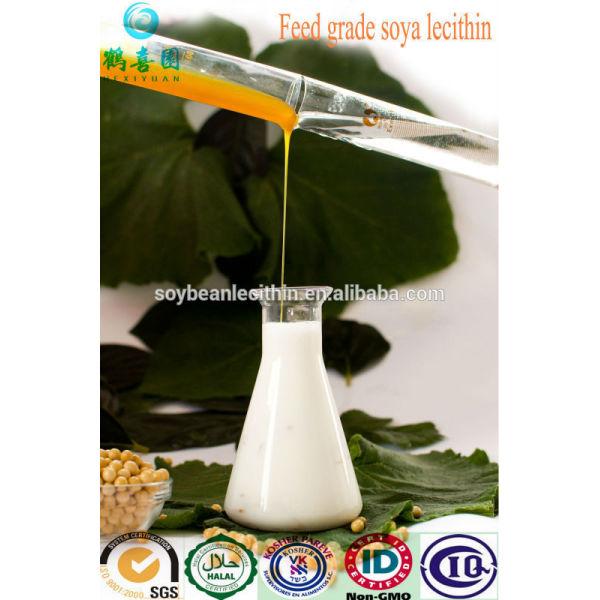 Grasa suplemento alimenticio en la alimentación animal - lecitina de soja líquido ( 200 kg / tambor )