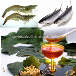 Soja de lecitina óleo para crustáceos e peixe