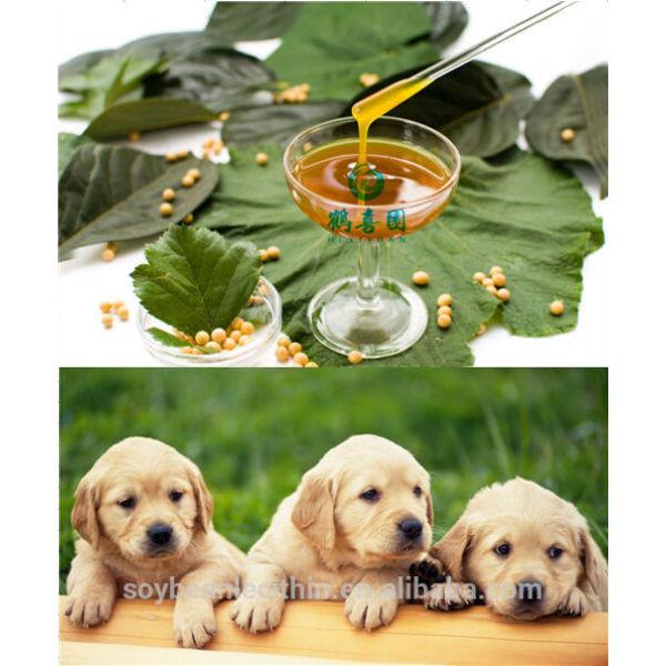 Lecitina para perros de alimentación suplemento alimenticio