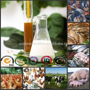 Воды полу-растворимые соевый лецитин для аква, Птицы, Бройлеров кормовой добавки