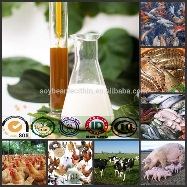 Soluble en agua del lecitina de para aqua, Las aves de corral, De pollos de engorde aditivo para la alimentación