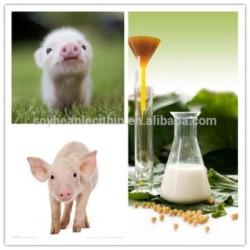 2S hydrolysed Halal ISO  feed grade liquid soy soya soybean lecithin granulesten factory