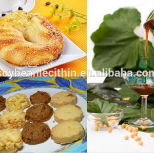 Emulsifier soy lecithin in confectionery industrial non-gm with factory competitive price