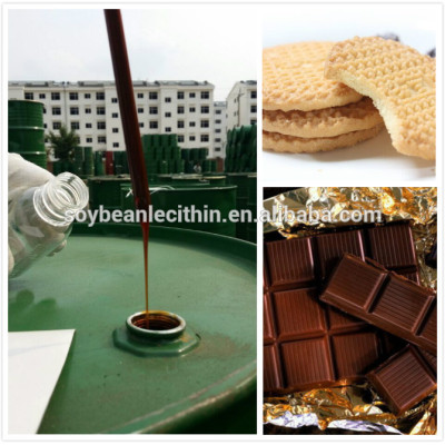 Nature extract soya lecithin as food emulsifier agent
