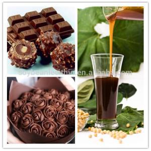 Soya lecithin as cake stabilizer