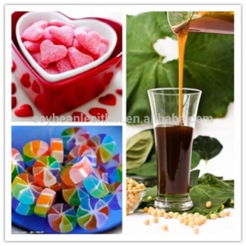 Soya lecithin extract from soya beans