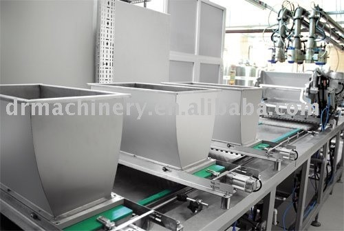 Shell Chocolate production line
