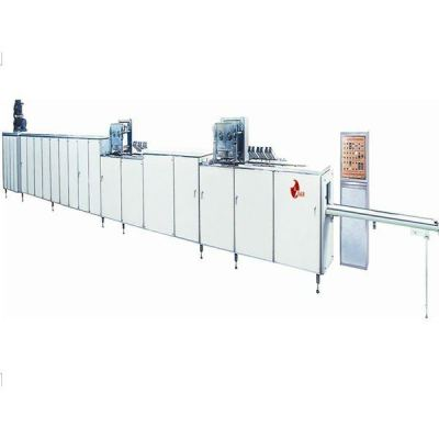QJZ-II CHOCOLATE MOULDING PLANT(DOUBLE HEAD)