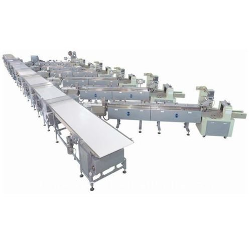 automatic feeding packing lines