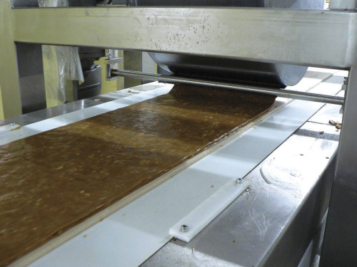 candy bar production line