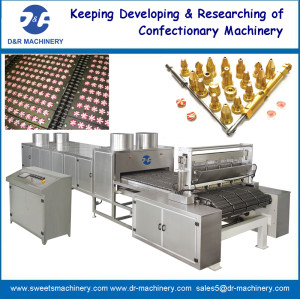 servo driven hard candy depositing plant