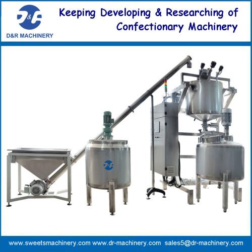 automatic sugar dissolving tanks