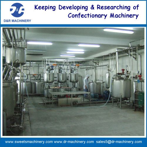 cooking system of Mogul Plant