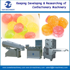 Die forming candy machine