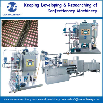deposited hard candy production line