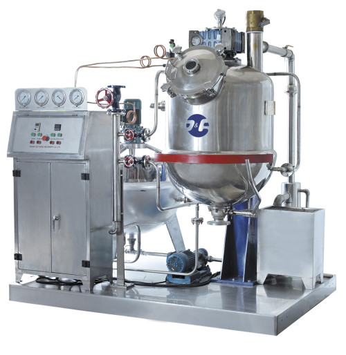 Toffee depositing machine