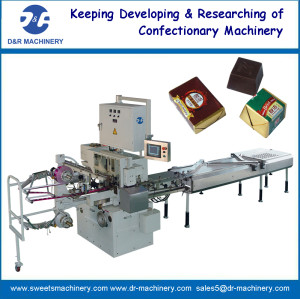 fast chocolate folding packing machine