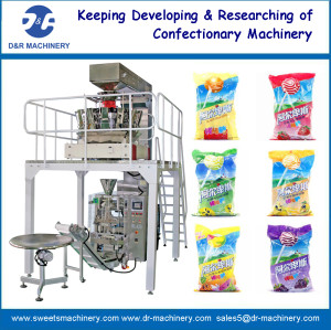 DRP-520C MULTI-HEAD WEIGHER VERTICAL PACKING MACHINE