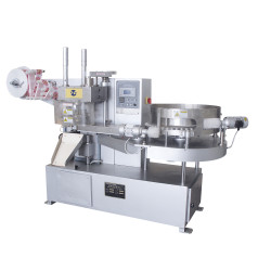 Lollipop twist packing machine