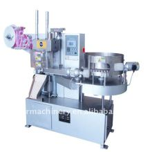 Lollipop torsion machine d'emballage